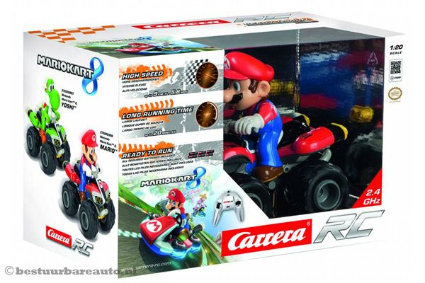 carrera rc mario kart 8 mario. Black Bedroom Furniture Sets. Home Design Ideas